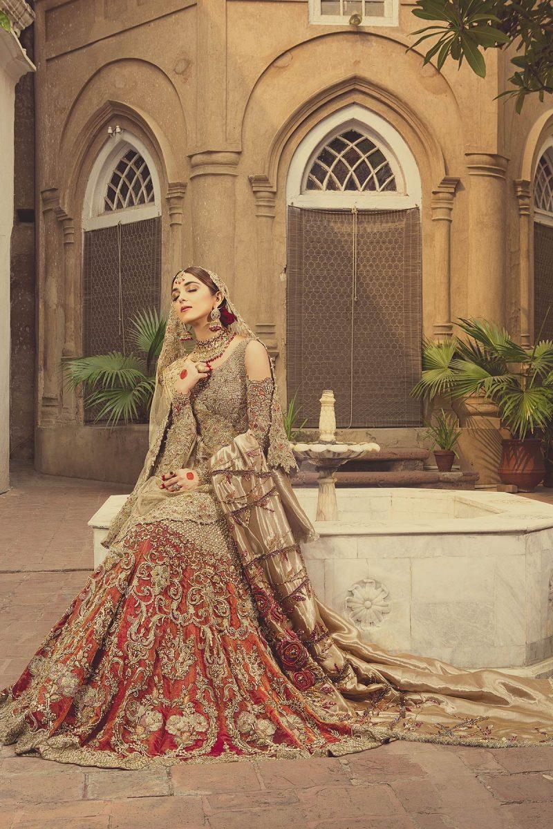 HEER JOGNI Bridal by Faiza Saqlain - chambeili Bridal