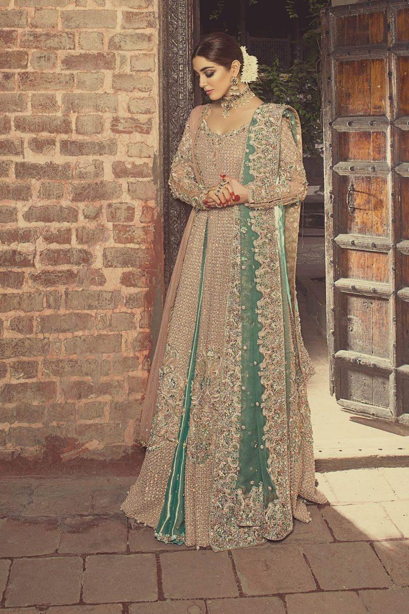 HEER MADHANI Bridal by Faiza Saqlain - chambeili Bridal