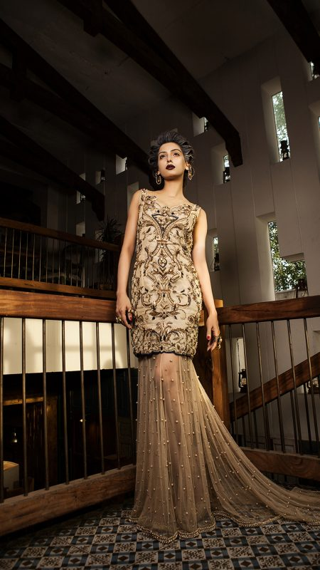 REGAL DAWN BETH GLORY FORMAL by Faiza Saqlain - chambeili Bridal