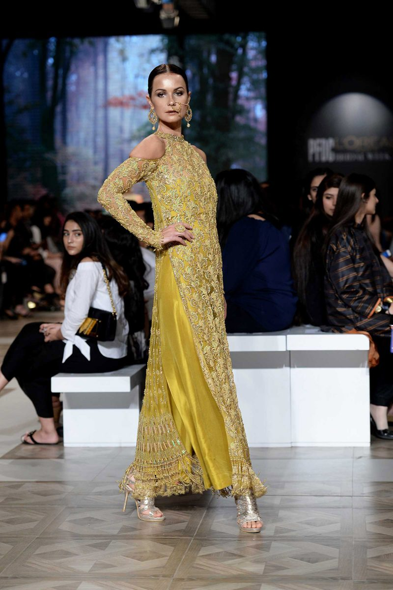 HEER KESAR Formal by Faiza Saqlain - chambeili Bridal