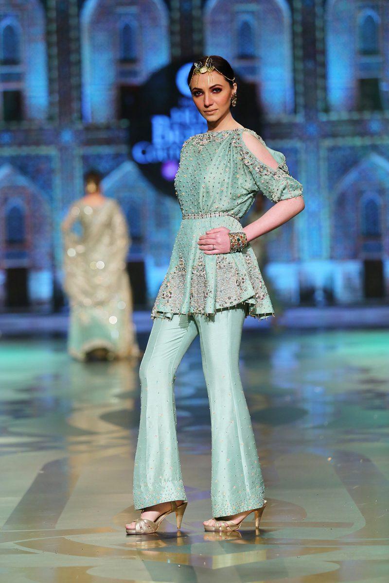 SOZ KESIMI NOORAY FORMAL by Faiza Saqlain - chambeili Bridal
