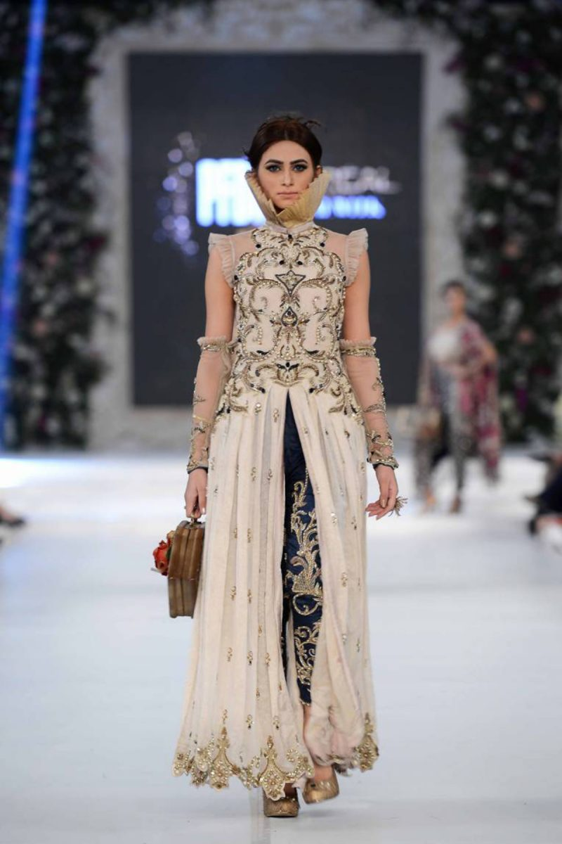 REGAL DAWN STARLET FORMAL by Faiza Saqlain - chambeili Bridal
