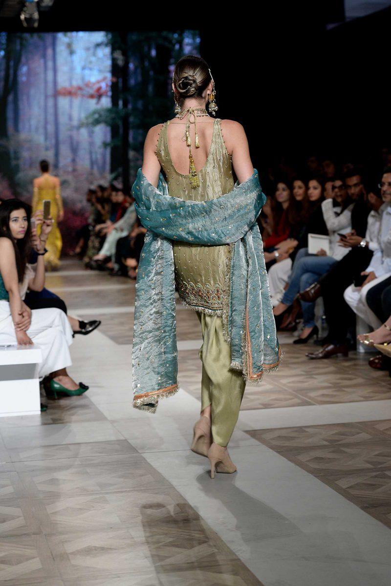 HEER MASAKALI Formal by Faiza Saqlain - chambeili Bridal