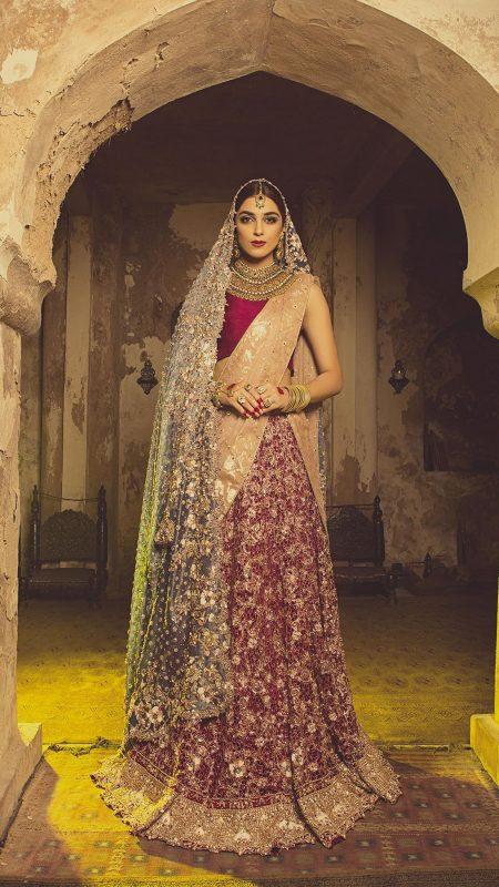 HEER MAGNIFICENCE Bridal by Faiza Saqlain - chambeili Bridal