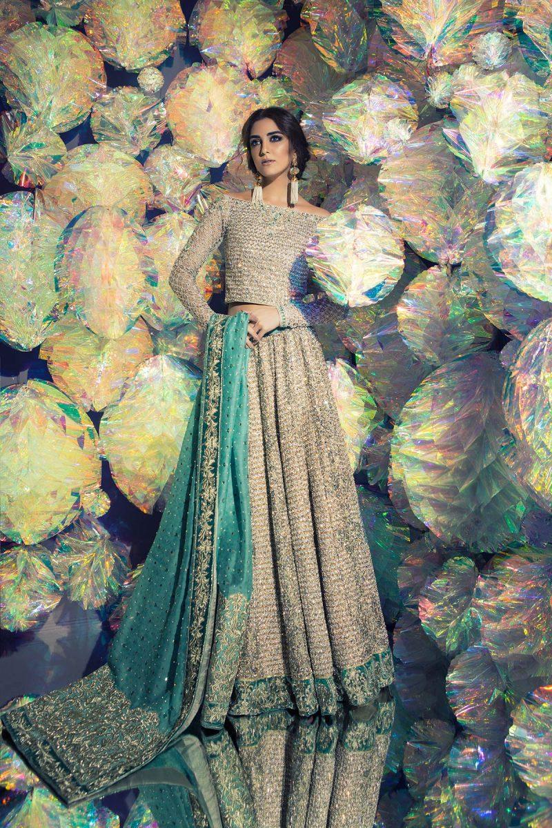 SOZ KESIMI NIGAR Bridal by Faiza Saqlain - chambeili Bridal