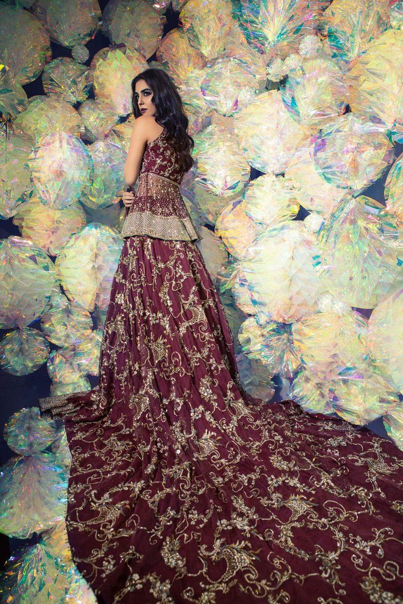 SOZ KESIMI SHENAZ Bridal by Faiza Saqlain - chambeili Bridal