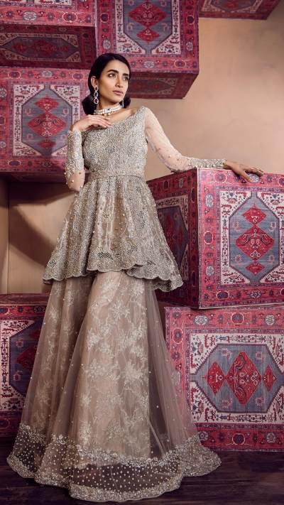 RAZE ZIBAEI ZA-RZ-601 Bridal by Zonia Anwaar - chambeili Bridal