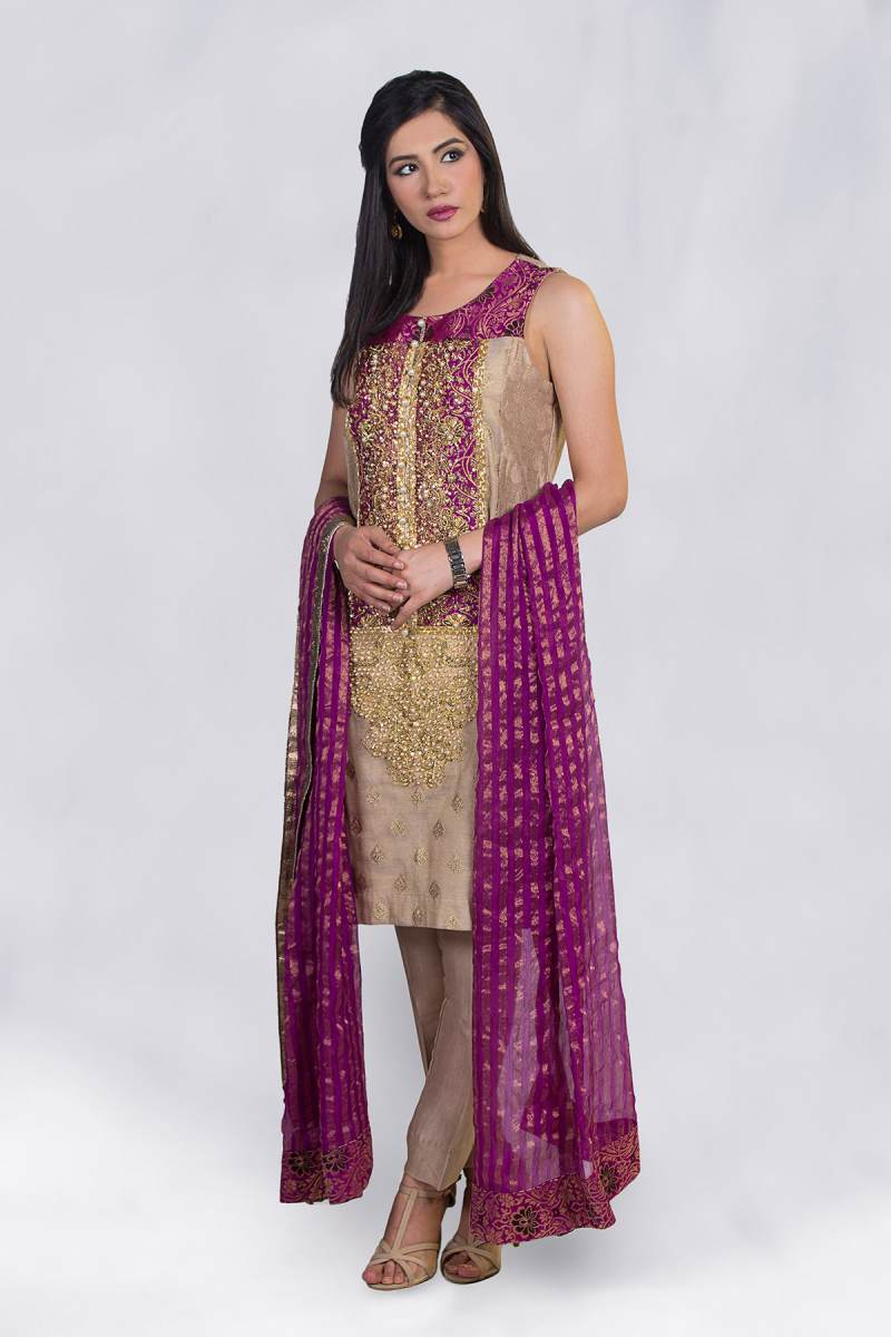ZA-SF-219A SEMI FORMAL by Zonia Anwaar - chambeili Bridal