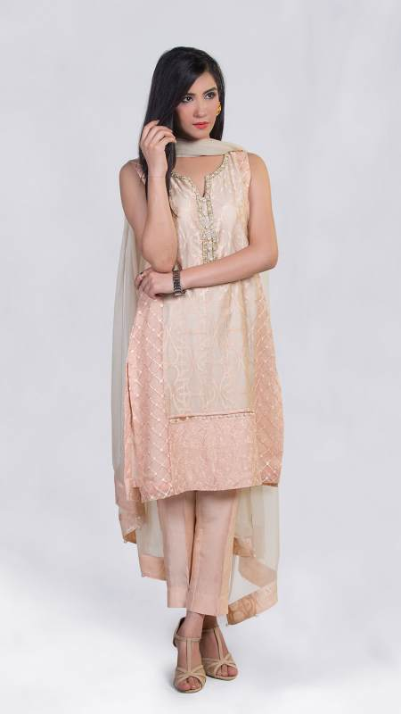 ZA-SF-297A SEMI FORMAL by Zonia Anwaar - chambeili Bridal