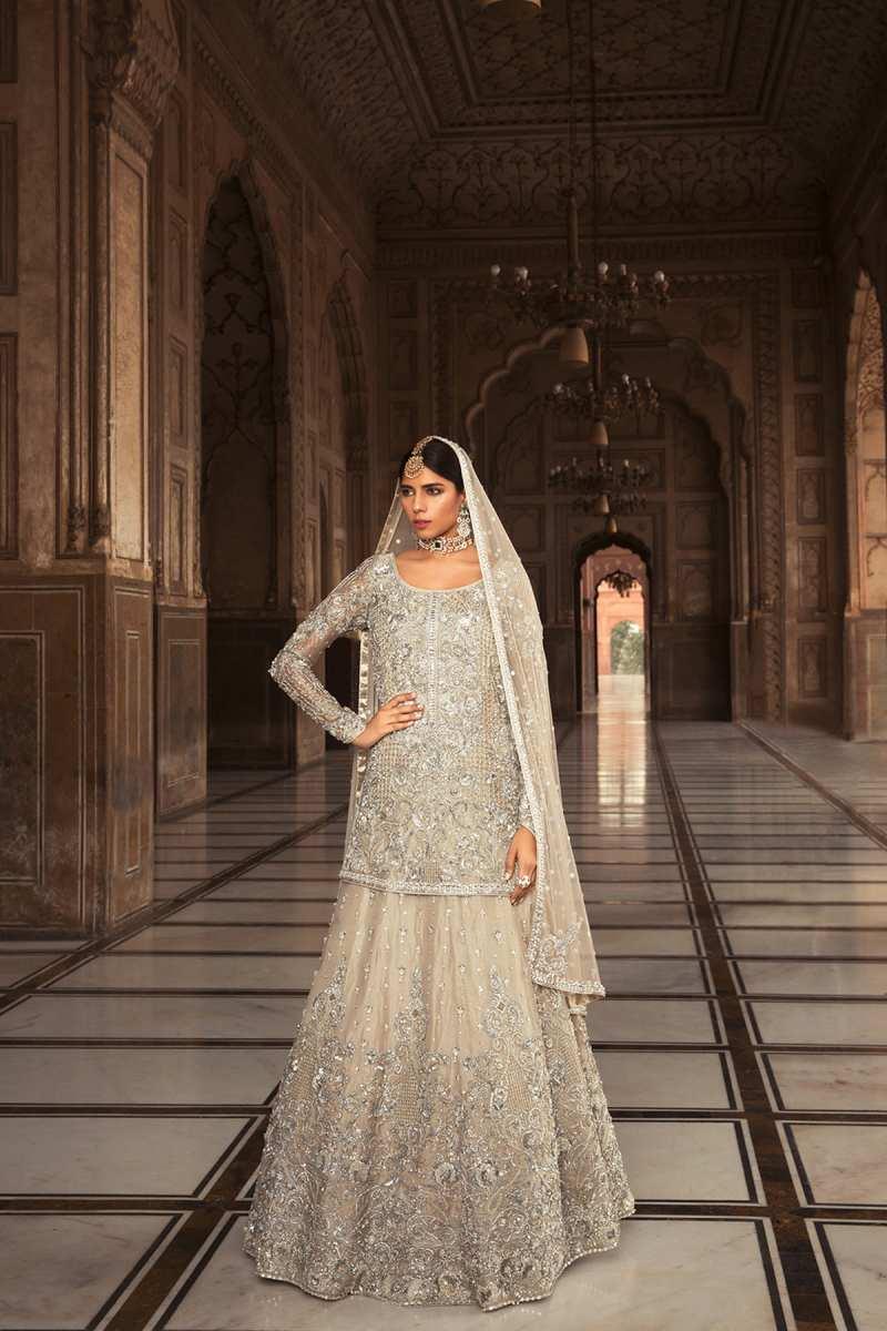 ZEB UN NISSA ZEB SS19 BRIDAL by Faiza Saqlain - chambeili Bridal