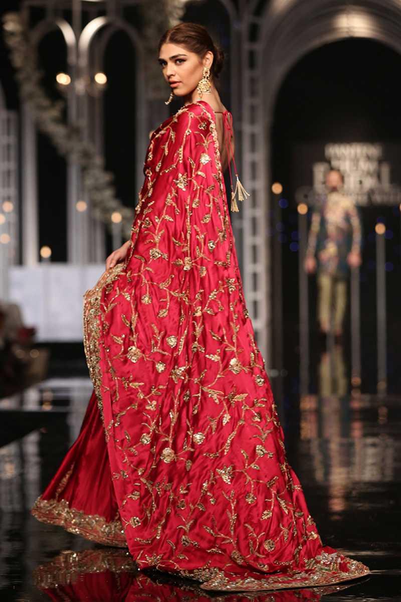 SHEHNAI SHAHWAR FORMAL #PanteneHumBridalCoutureWeek - chambeili Bridal