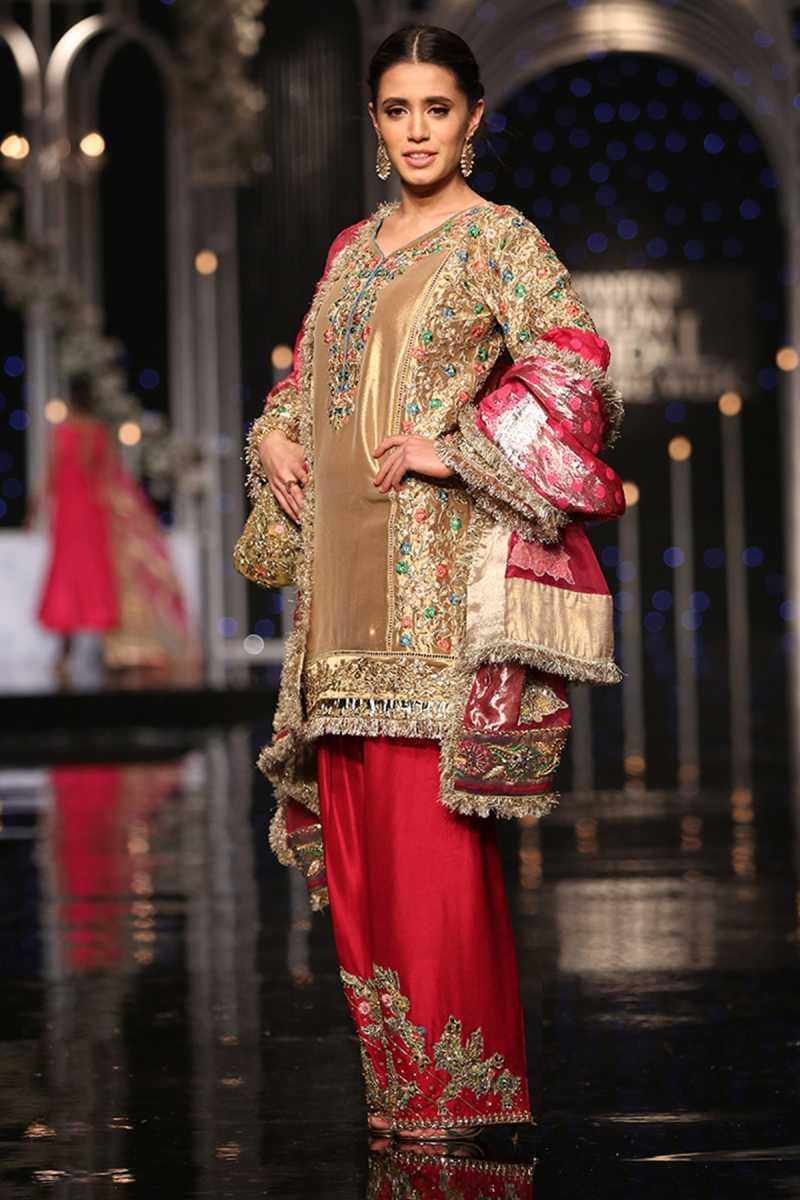 SHEHNAI SAACHI FORMAL #PanteneHumBridalCoutureWeek - chambeili Bridal