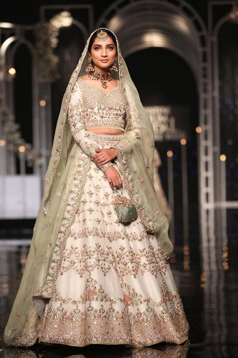 SHEHNAI TARA BRIDAL #PanteneHumBridalCoutureWeek - chambeili Bridal