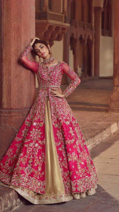 SHEHNAI KAASNI BRIDAL #PanteneHumBridalCoutureWeek - chambeili Bridal
