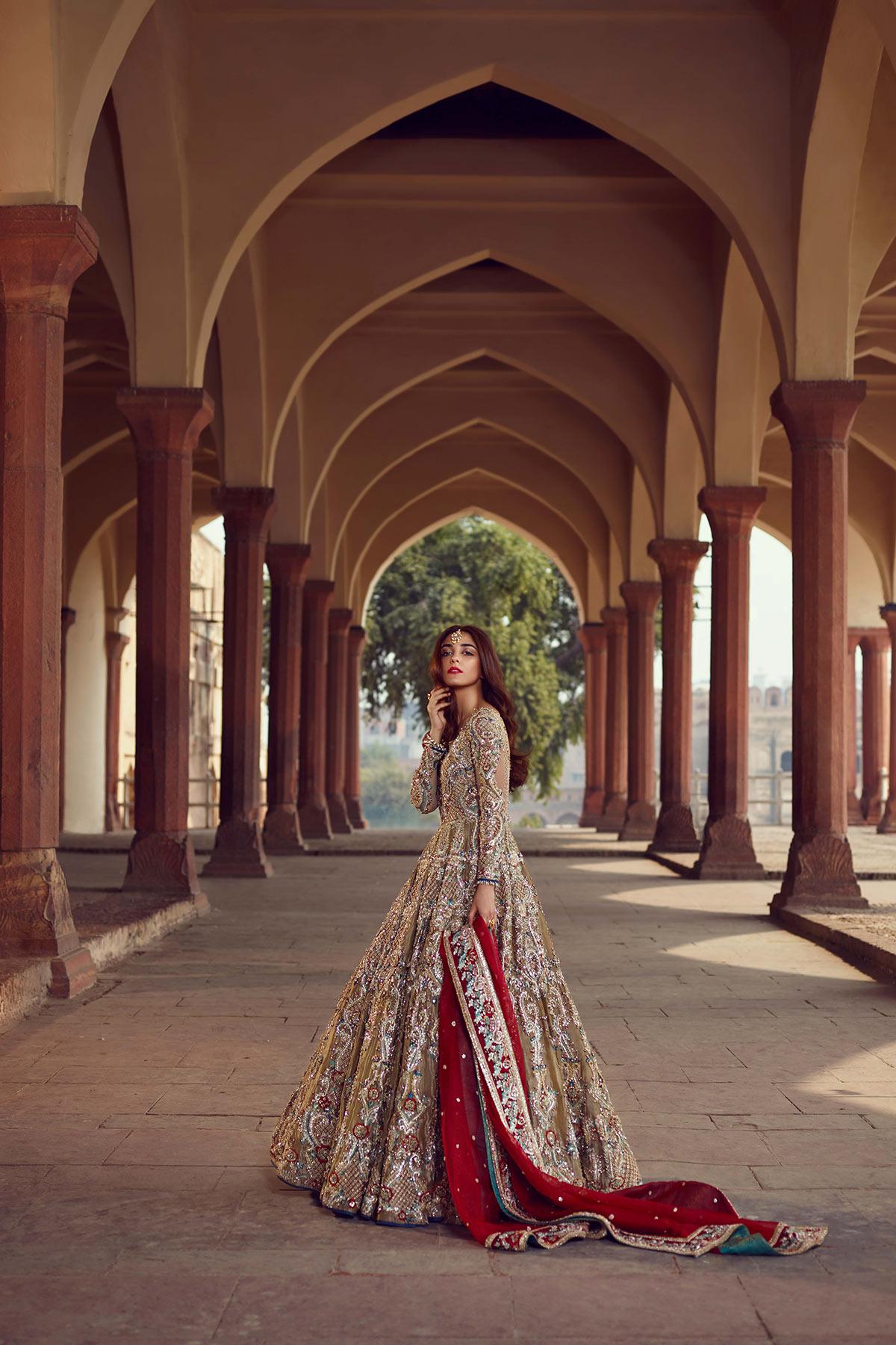 SHEHNAI FALISHA BRIDAL #PanteneHumBridalCoutureWeek - chambeili Bridal