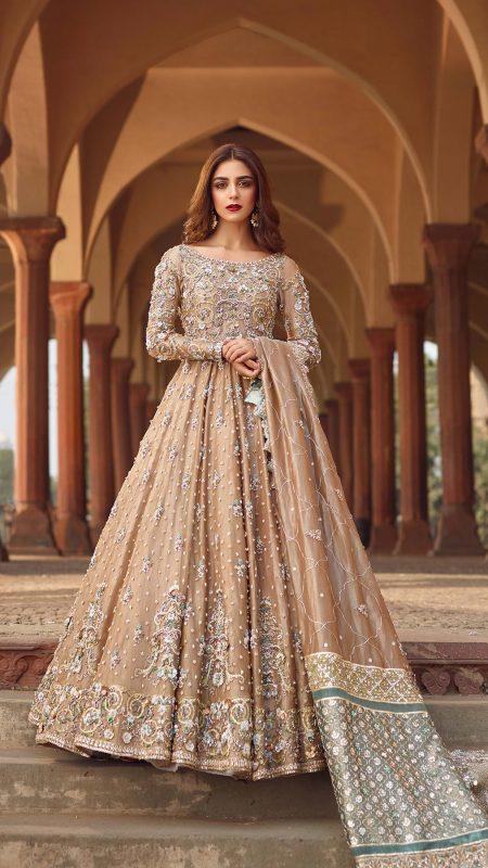 SHEHNAI TANISHA BRIDAL #PanteneHumBridalCoutureWeek - chambeili Bridal