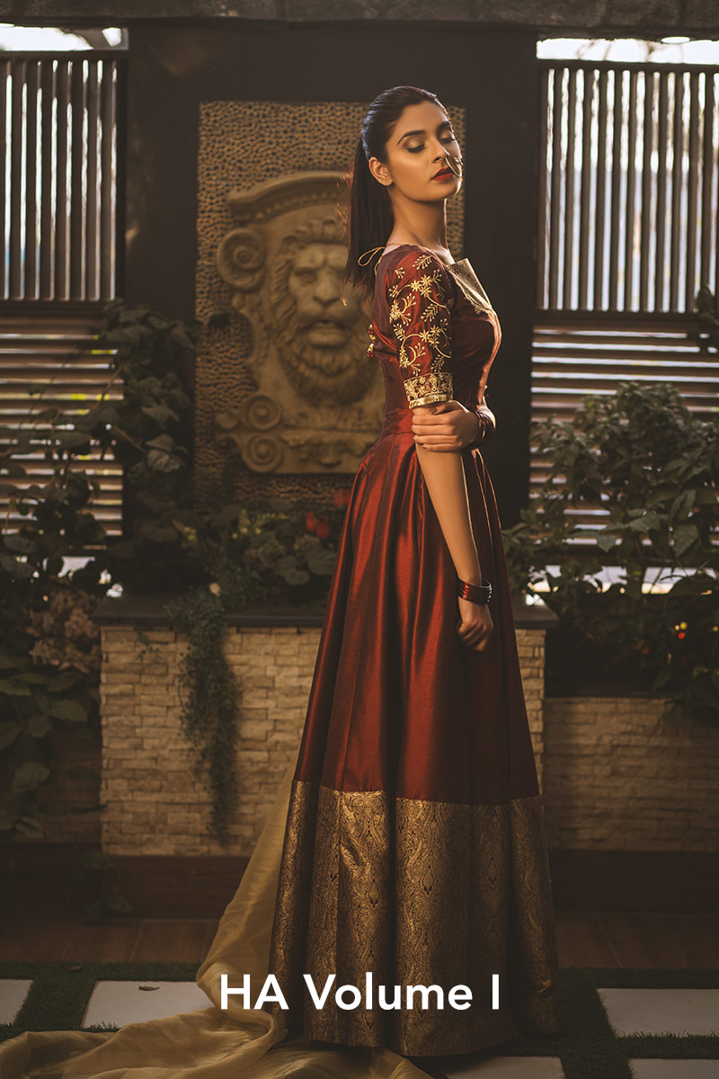 Volume I by Hamza Anwar - chambeili Bridal