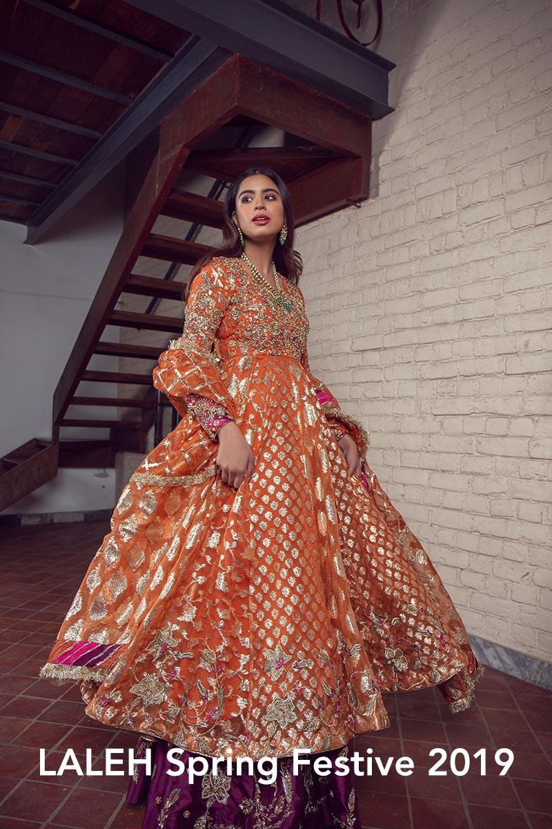 LALEH by Zonia Anwaar - chambeili Bridal