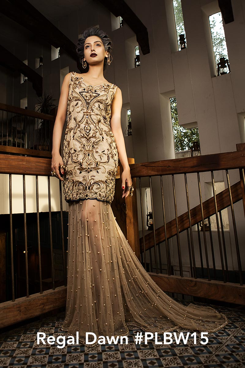 Regal Dawn by Faiza Saqlain - chambeili Bridal