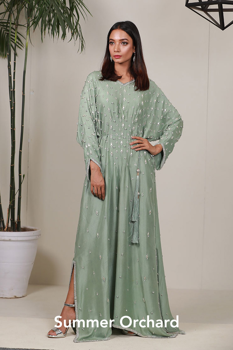 Summer Orchard by Faiza Saqlain - chambeili Bridal