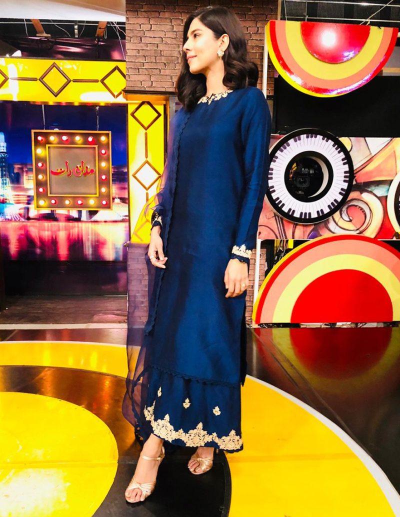 BLUE LAGOON CULOTTE ENSEMBLE PRET by Faiza Saqlain - chambeili Bridal