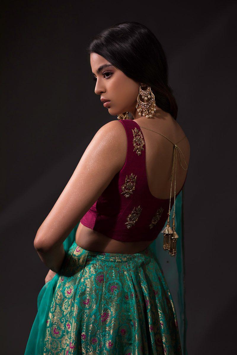 NOUSHA Kalidaar Lehnga Occasion Wear 2019 by Zonia Anwaar - chambeili Bridal