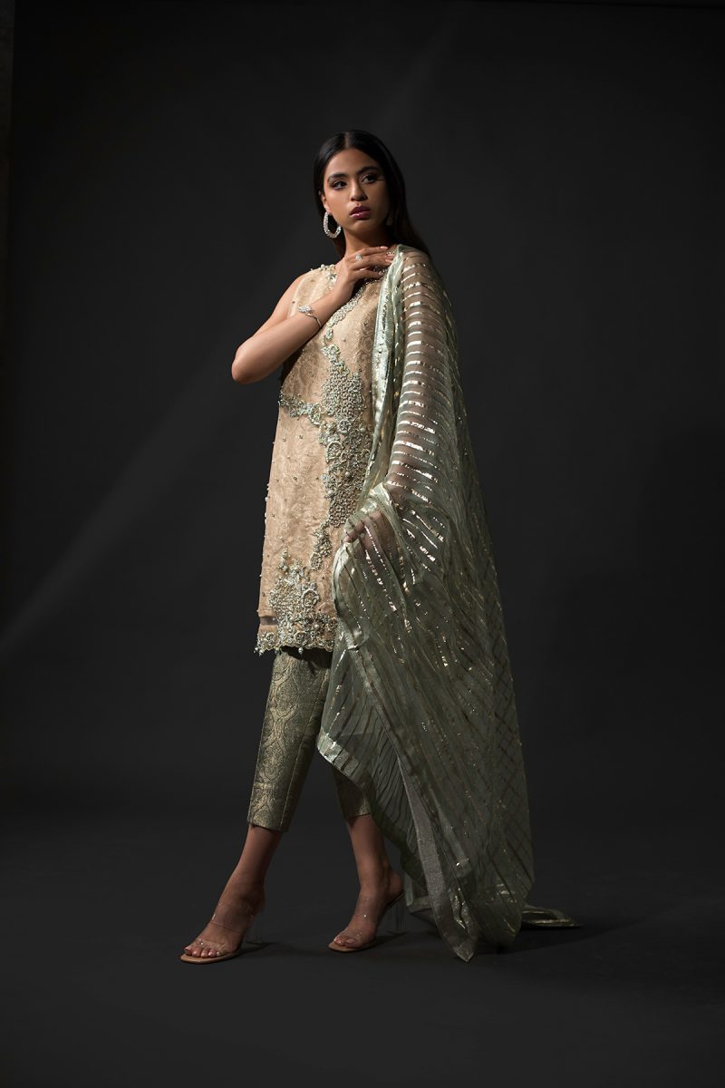 NOUSHA Monsoon Mink Occasion Wear 2019 by Zonia Anwaar - chambeili Bridal