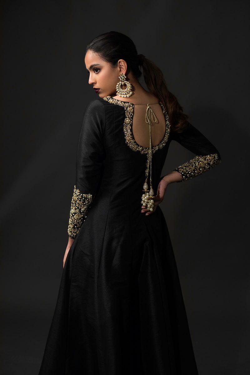 NOUSHA Kalidar Anarkali Occasion Wear 2019 by Zonia Anwaar - chambeili Bridal