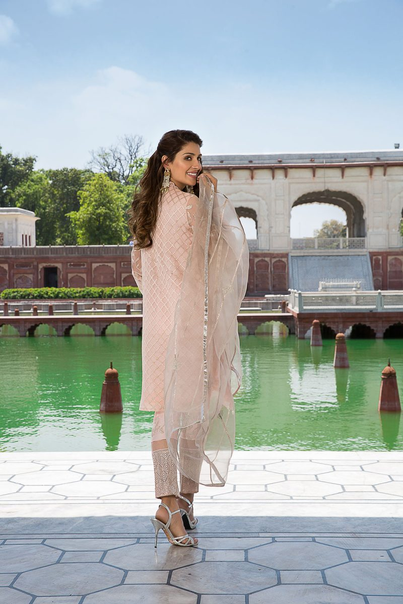 MOGRA MIRNA FORMAL WEAR by Faiza Saqlain - chambeili Bridal