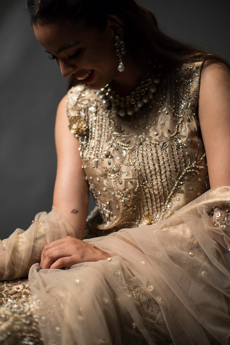NOUSHA Mother of Pearl Occasion Wear 2019 by Zonia Anwaar - chambeili Bridal