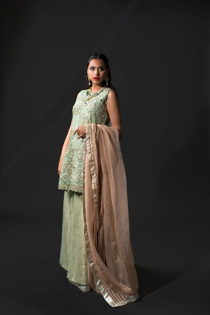 NOUSHA Summery Pastel Occasion Wear 2019 by Zonia Anwaar - chambeili Bridal