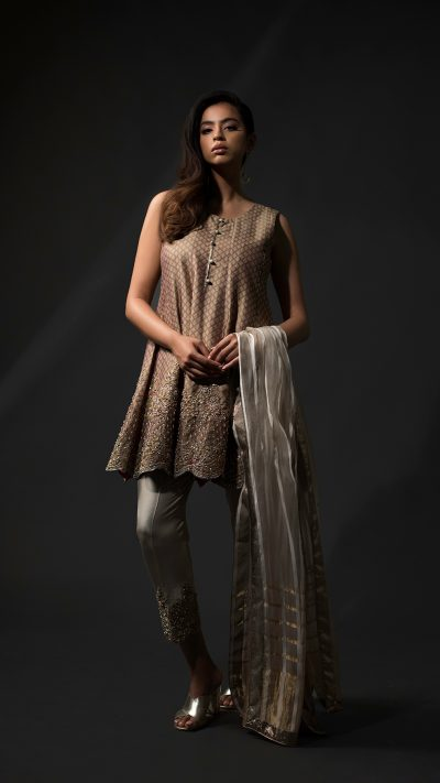 NOUSHA Regal Peplum Occasion Wear 2019 by Zonia Anwaar - chambeili Bridal