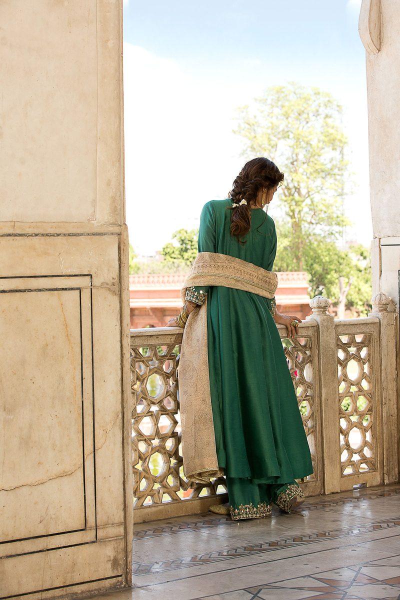 MOGRA ZAMURD FORMAL WEAR by Faiza Saqlain - chambeili Bridal